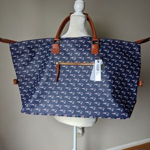 Dooney & Bourke NFL NE Patriots Medium Duffle Bag